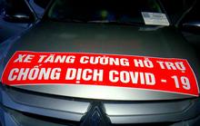"""Bất ngờ trong chiếc ôtô """"tăng cường hỗ trợ chống dịch Covid-19"""""""