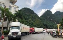 Cửa khẩu Tân Thanh thông quan trở lại sau thông tin Trung Quốc đột ngột dừng xuất nhập khẩu hàng hoá