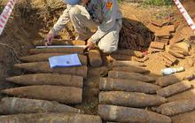 Phát hiện cả hầm đạn pháo, ngòi nổ ở đất thép Vĩnh Linh