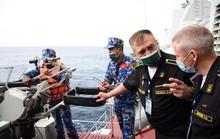 Đội tuyển Việt Nam thi đấu bắn pháo đối hải tại Army Games 2021