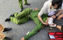 Nam sinh viên vượt chốt kiểm tra, tông đại úy công an trọng thương
