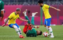 Tuyển Brazil thắng luân lưu, lọt vào chung kết Olympic Tokyo 2020