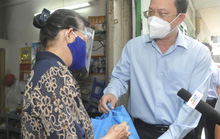Phó Bí thư Thành ủy TP HCM Nguyễn Hồ Hải thăm các vùng xanh ở quận Tân Bình