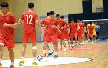 Tuyển futsal Việt Nam hưng phấn trước trận đọ sức Brazil