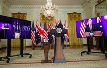 Tổng thống Biden bất ngờ lập liên minh Mỹ-Anh-Úc, Trung Quốc lên tiếng