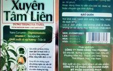 Đề nghị công an xác minh sản phẩm Xuyên Tâm Liên giả, quảng cáo chữa Covid-19
