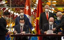 Chủ tịch nước Nguyễn Xuân Phúc được trao Huân chương José Marti cao quý nhất của Cuba
