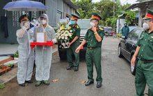 Quân đội đưa tro cốt bệnh nhân Covid-19 tử vong về Bà Rịa – Vũng Tàu