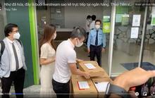 Vietcombank lên tiếng về tạm khóa báo có tài khoản