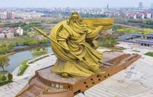 Trung Quốc mất 23,9 triệu USD để di dời tượng Quan Công khổng lồ