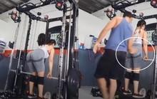 Đang tập gym, cô gái bị nam thanh niên xông vào sàm sỡ, đòi cưỡng hiếp