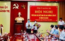 Quảng Trị: Điều động, bổ nhiệm một loạt lãnh đạo sở, huyện
