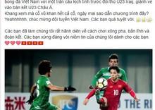 Sao Việt vỡ òa cùng chiến thắng của U23 Việt Nam