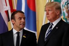 """""""Tình anh em Trump - Macron đã chết""""!"""