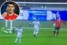Xem pha hỏng ăn khó tin của Morata