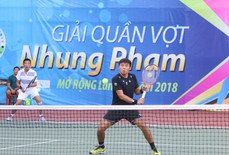 Giải quần vợt phong trào có tổng tiền thưởng 100 triệu đồng