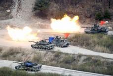 """Mỹ - Triều Tiên sắp đối mặt """"lửa chiến"""""""