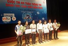 Sinh viên Duy Tân đứng thứ nhì tại Cuộc thi An toàn Thông tin - VNPT Secathon 2018