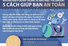 Những điều quan trọng về bảo mật Facebook: 5 cách giúp bạn an toàn