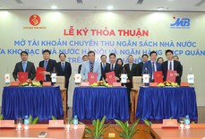 Mở TKCT ngân sách nhà nước giữa KBNN Hà Nội và Ngân hàng TMCP Quân đội trên địa bàn Hà Nội
