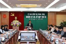 Ủy ban Kiểm tra Trung ương kỷ luật 4 cán bộ