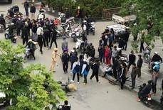 """Trích xuất camera không có việc CSGT Thanh Hóa """"quăng lưới"""" trúng học sinh té ngã"""