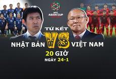 Video clip: Tương quan trận tứ kết Việt Nam - Nhật Bản
