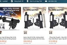 Thiết bị lắp ráp súng rao bán trên Lazada: Trách nhiệm của ai?