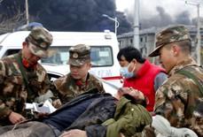 Clip: Nổ nhà máy hóa chất ở Trung Quốc, ít nhất 47 người chết