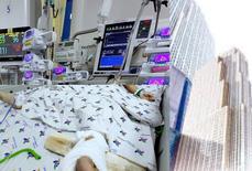 Cứu sống bé trai rơi từ tầng 12 chung cư xuống đất dập gan, dập phổi