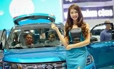 Người đẹp tại Vietnam Motor Show 2015