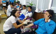 300 nhân viên VietBank tình nguyện hiến máu