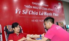"""Hơn 500 CB-NV Techcombank đồng hành cùng """"hành trình đỏ"""" hiến máu tình nguyện"""