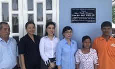 VWS tặng nhà tình thương cho nạn nhân chất độc da cam