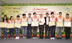 Nam A Bank thưởng 20.000 USD cho đội tuyển cờ vua Việt Nam tại Olympiad 2018