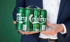 Carlsberg giới thiệu bao bì mới thân thiện với môi trường