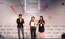 """Tổng Giám đốc Vinamilk được Forbes Việt Nam vinh danh giải thưởng """"Thành tựu trọn đời"""""""