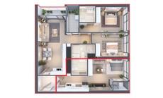 Đầu tư cho thuê lưu trú thời đại 4.0 với loại hình Dual Key - căn hộ hai chìa khóa