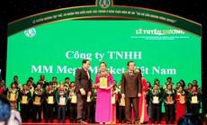 """Công ty MM Mega Market Việt Nam được vinh danh """"Doanh nghiệp vì nhà nông"""""""