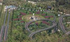 Đường xe trượt ống 3 vòng xoáy đầu tiên tại Việt Nam, bạn đã thử chưa?