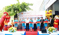 Vietbank Trần Não nâng cấp trụ sở mới