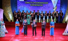 """Eurowindow 4 lần liên tiếp đạt """"Thương hiệu Quốc gia"""""""