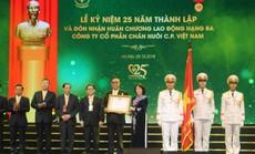 C.P. Việt Nam kỷ niệm 25 năm thành lập và đón nhận Huân chương Lao động hạng ba