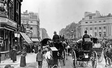 Tròn mắt với cảnh tắc đường ở các thành phố 100 năm trước