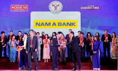"""Nam A Bank giữ vững """"thương hiệu mạnh"""" năm thứ 4 liên tiếp"""