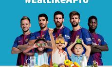 """Beko cùng Barcelona tuyên truyền """"Ăn uống chuẩn chuyên gia"""""""