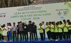 Hơn 1.000 tình nguyện viên tham gia chiến dịch tiêu dùng sản phẩm xanh