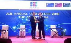 Sacombank 2 năm liên tiếp dẫn đầu doanh số chi tiêu thẻ JCB