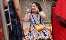 Khuyến mãi chỉ phụ nữ béo được hưởng tại công viên Trung Quốc
