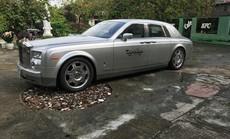 Rolls-Royce Phantom từng của đại gia Khải Silk rao bán 9 tỉ đồng trên sân gạch